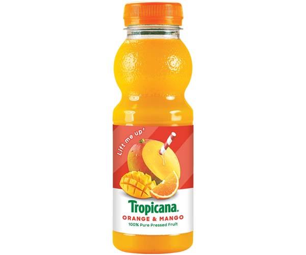 Tropicana Juice - Orange & Mango - 8x300ml