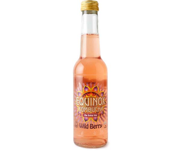 Equinox Kombucha - Wild Berry - 20x275ml