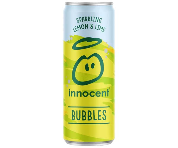 Innocent Bubbles - Cans - Lemon, Lime & Apple - 12x330ml