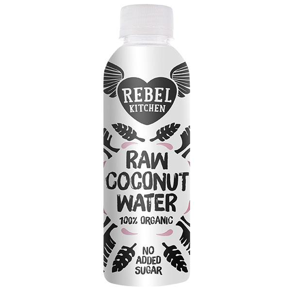 Rebel Kitchen - Raw Organic Coconut Water - 8x250ml