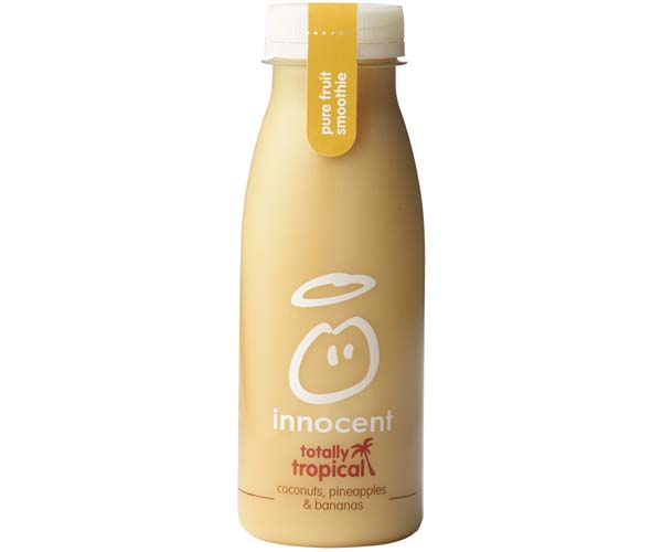 Innocent Smoothie - Pineapple, Banana & Coconut - 8x250ml