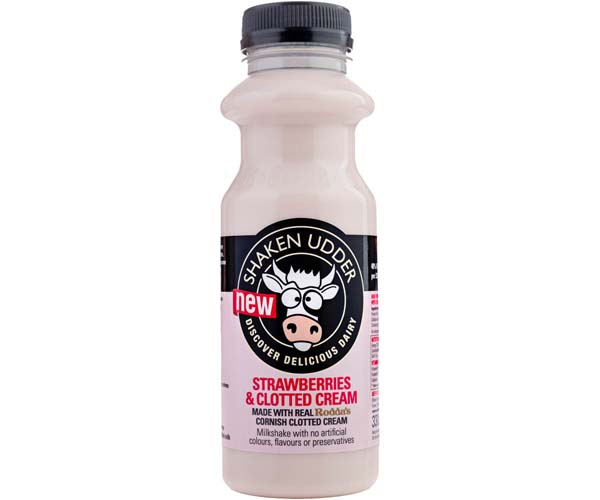 Shaken Udder - Strawberries & Clotted Cream - 6x330ml