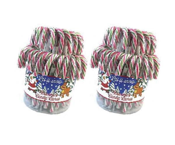 Candy Canes Peppermint - 60x20g