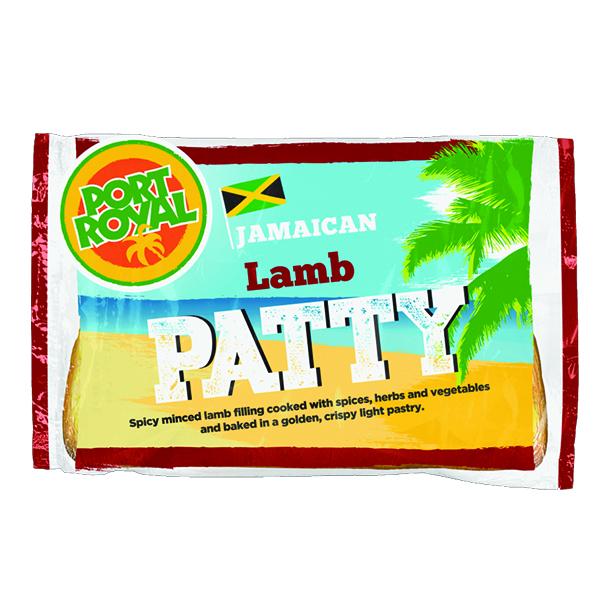 Jamaican - Lamb Pattie - 8x140g