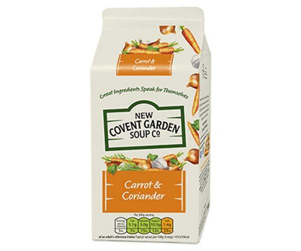 Ncg Soup - Carrot & Coriander - 6x600g