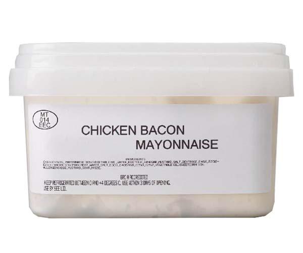 Sandwich Filler - Chicken, Bacon & Mayonnaise - 1x1kg