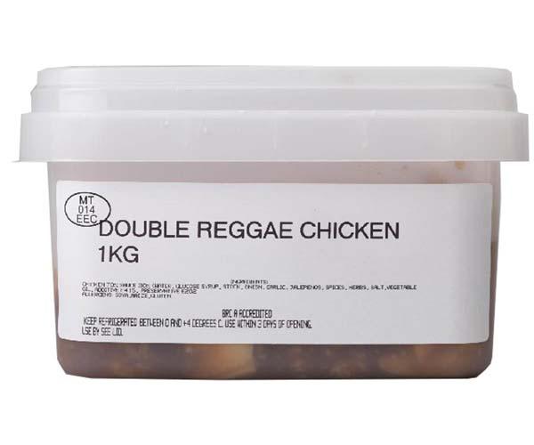 Sandwich Filler - Marinated Double Reggae Chicken - 1x1kg