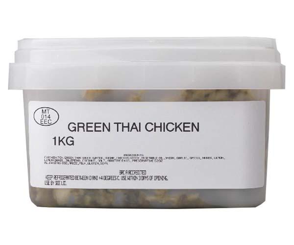 Sandwich Filler - Marinated Thai Green Chicken - 1x1kg