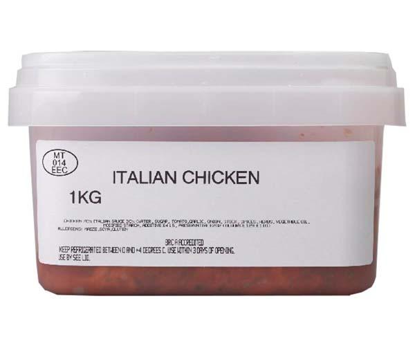 Sandwich Filler - Marinated Italian Chicken - 1x1kg