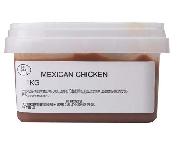 Sandwich Filler - Marinated Mexican Chicken - 1x1kg