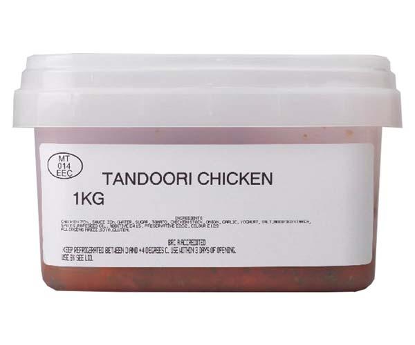 Sandwich Filler - Marinated Tandoori Chicken - 1x1kg