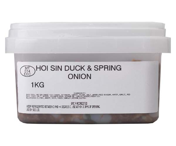 Sandwich Filler - Hoisin Duck & Spring Onion - 1x1kg