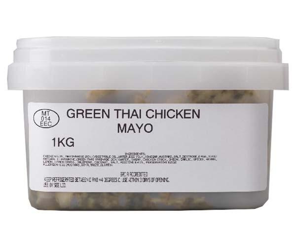 Sandwich Filler Mayo - Thai Green Chicken - 1x1kg
