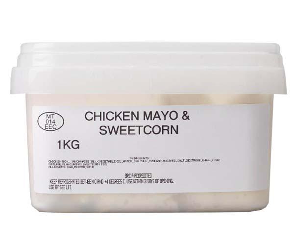 Sandwich Filler Mayo - Chicken & Sweetcorn - 1x1kg