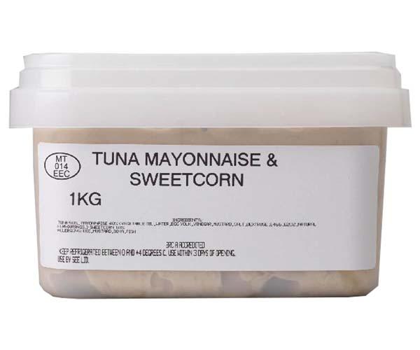 Sandwich Filler - Tuna Mayo & Sweetcorn - 1x1kg
