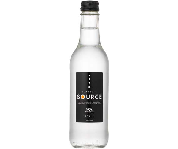 Source Org Water - Still - Gls - 24x330ml