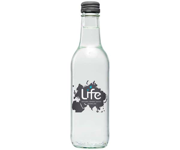 Life Water - Sparkling Glass - 24x330ml