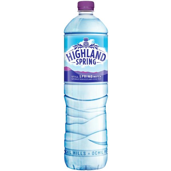 Highland Spring Water - Still - 12x1.5L