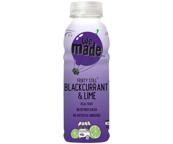 We Made - Blackcurrant & Lime - 12x330ml
