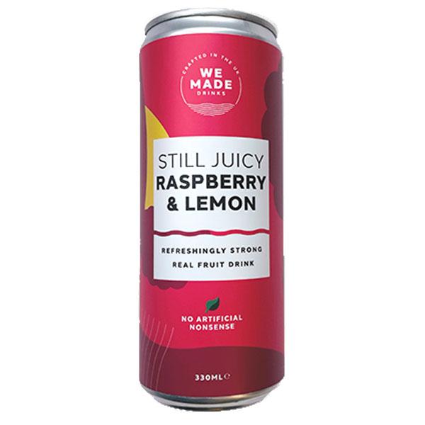 We Made - Cans - Raspberry & Lemon - 12x330ml