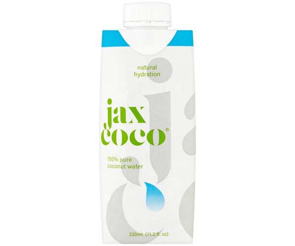 Jax Coco 100% Pure Coconut Water - 12x330ml