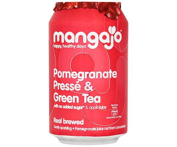 Mangajo Cans - Pomegranate Presse & Green Tea - 24x330ml