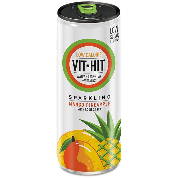 Vit Hit - Cans - Mango Pineapple - 12x330ml