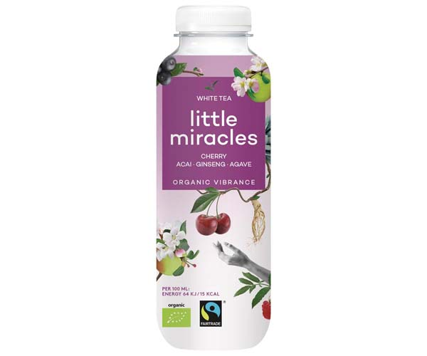 Little Miracles - Cherry & White Tea - 12x330ml