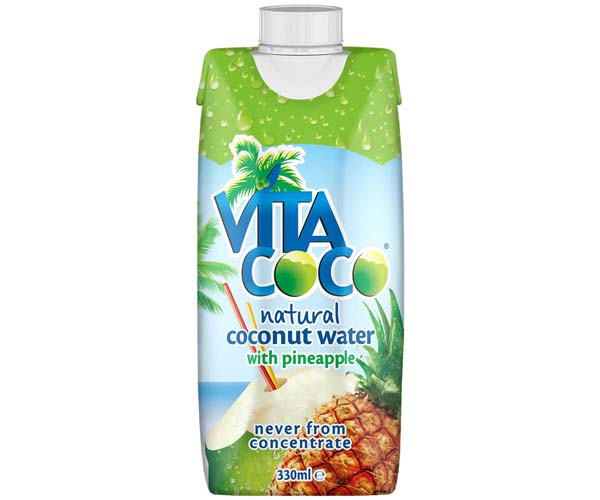 Vita Coco Coconut Water - Pineapple - 12x330ml