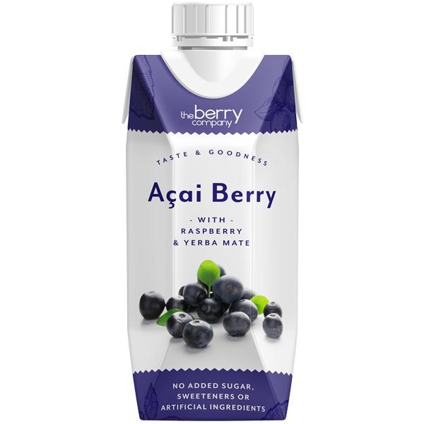 Berry Juice Co - Acai Berry - 12x330ml