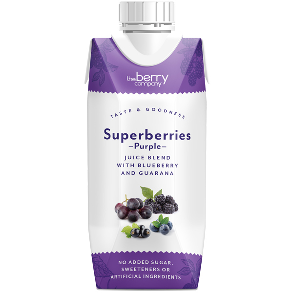 Berry Juice Co - Superberry Purple - 12x330ml