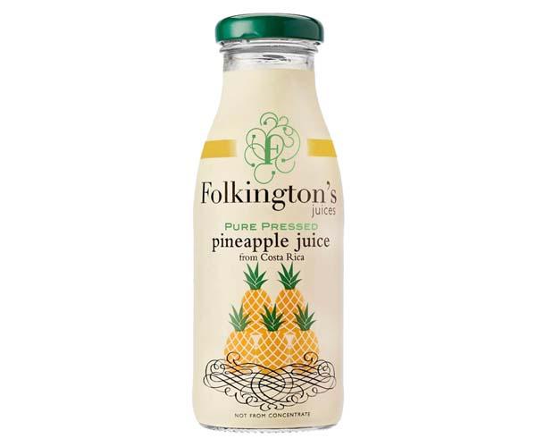 Folkingtons - Pineapple - 12x250ml Glass