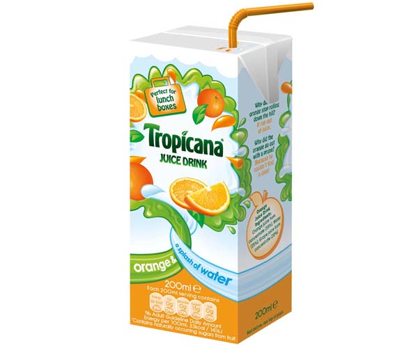 Tropicana Kids - Orange - 24x200ml