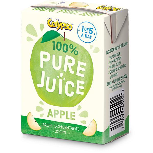 Calypso - Pure Apple Juice - 27x200ml