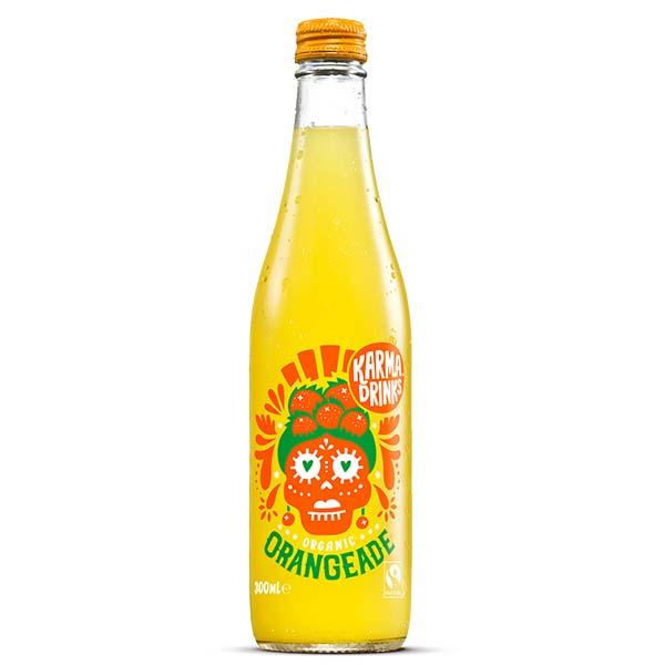 Karma Drinks - Glass - Summer Orangeade - 24x300ml