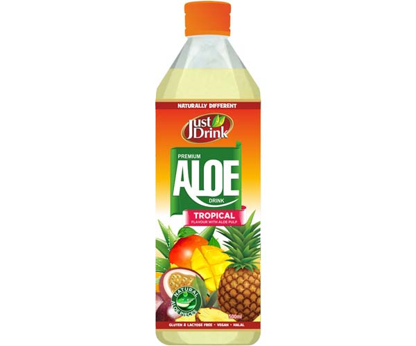 Just Drnk - Aloe Drink - Tropical - 12x500ml