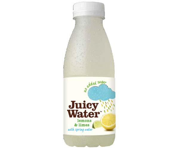Juicy Water - Lemon & Lime - 12x420ml