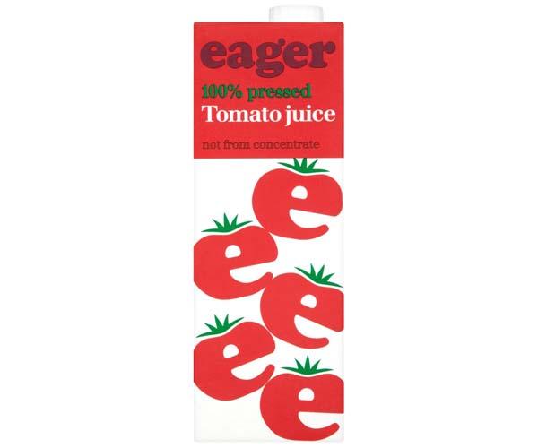 Eager Juice - Tomato - 8x1L