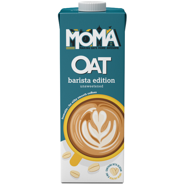 MOMA - Oat Drink Barista Edition Unsweetened- 1x1L