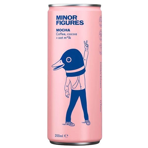 Minor Figures - Nitro Cold Brew - Mocha - 12x200ml