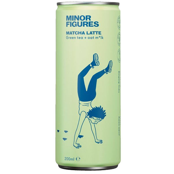 Minor Figures - Cold Brew - Matcha Latte with Oat M*lk - 12x200ml