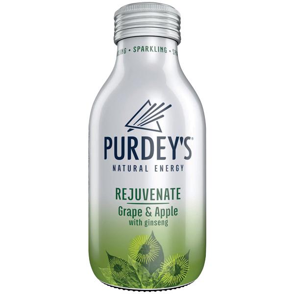 Purdeys - Rejuvenate Grape & Apple Glass - 12x330ml