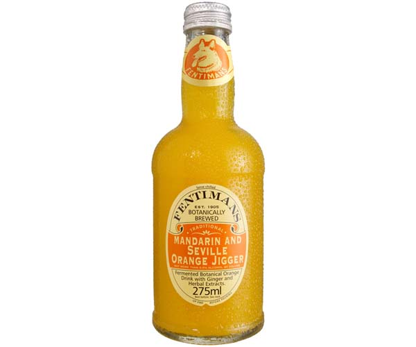 Fentimans - Mandarin & Seville Orange - 12x275ml Glass