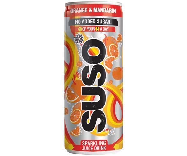 Suso - Orange & Mandarin - 24x250ml