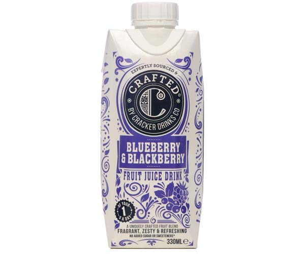 Crafted Tetra - Blueberry & Blackberry - 8x330ml