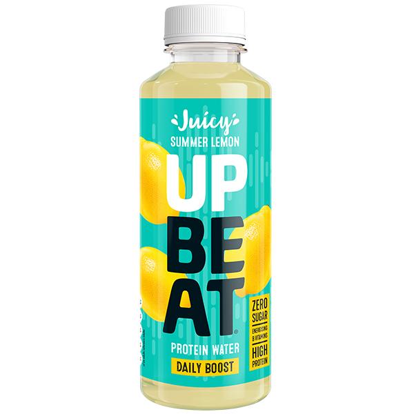 Upbeat Protein Water - Summer Lemon - 12x500ml