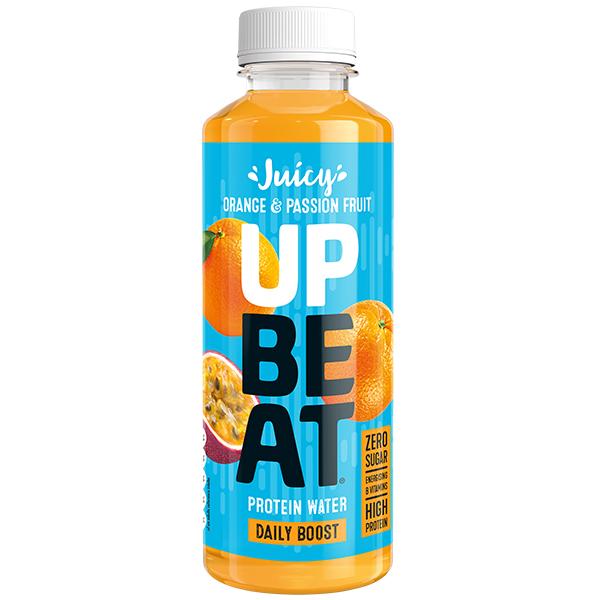 Upbeat Protein Water - Blood Orange & Mandarin - 12x500ml