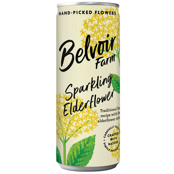 Belvoir Cans - Elderflower - 12x250ml