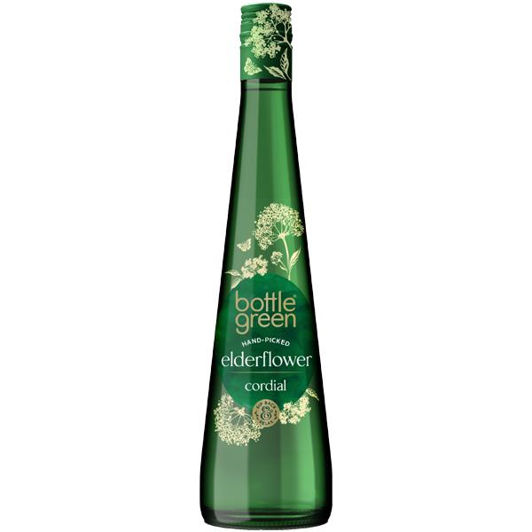 Bottle Green - Cordial - Elderflower - 6x50Cl