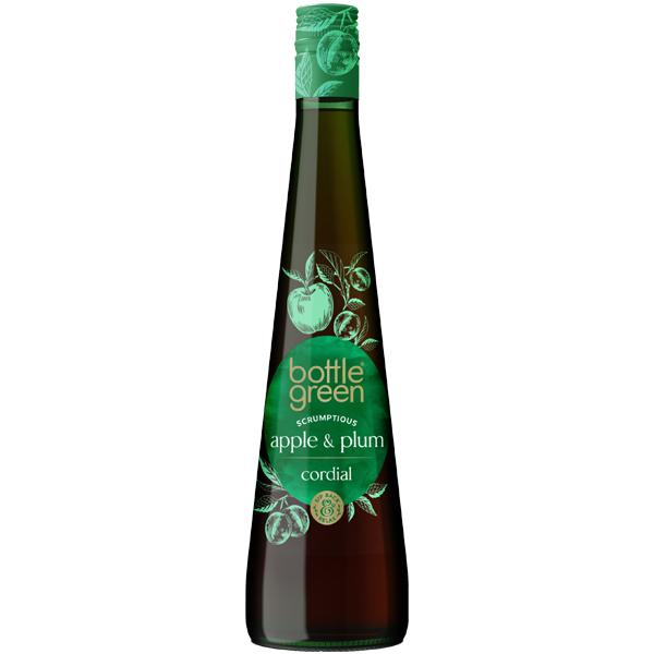 Bottle Green - Cordial - Coxs Apple & Plum - 6x50Cl